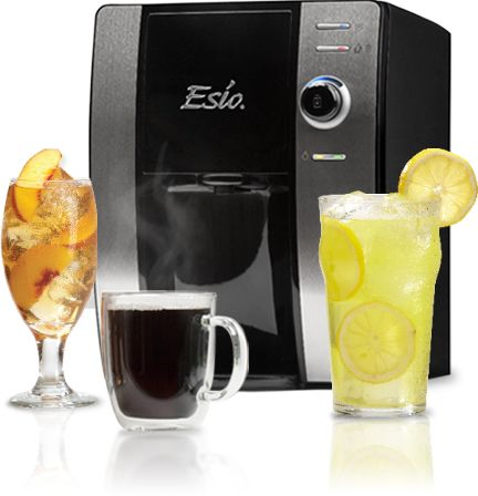 Single Cup Brewers & Beverage Machine | Esio Beverage System - I really want to get my hands on one of these machines. Apparently they are available at Walmart.