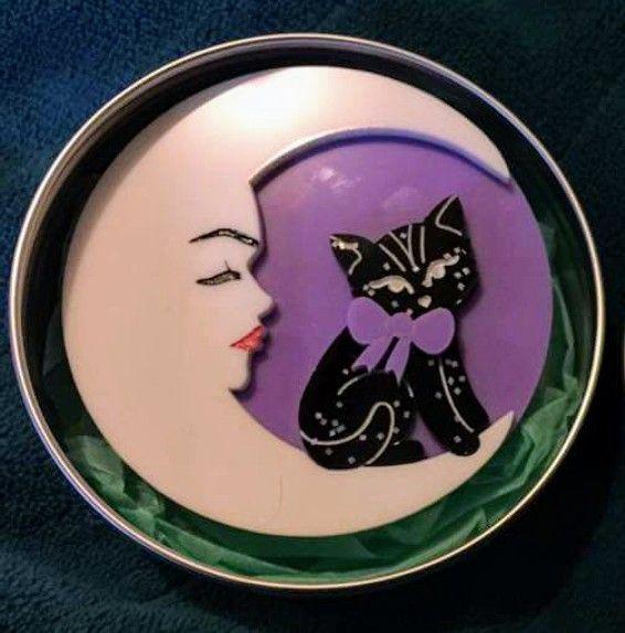 Marvelous Mavis Moon (Black/Purple)