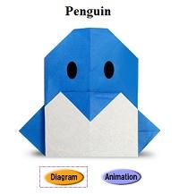 Pinguin vouwen