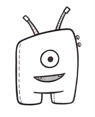 stina jones daily monster doodle Kawaii doodles