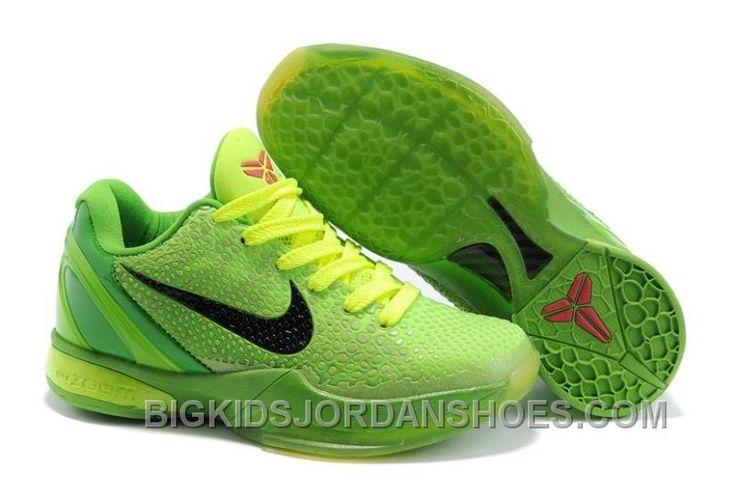 http://www.bigkidsjordanshoes.com/new-kids-kobe-shoes-6-vi-christmas-day-2010-green-black.html NEW KIDS KOBE SHOES 6 VI CHRISTMAS DAY 2010 GREEN BLACK Only $85.00 , Free Shipping!