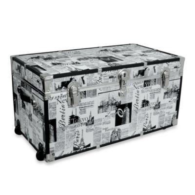 1000 Ideas About Storage Trunk On Pinterest Storage