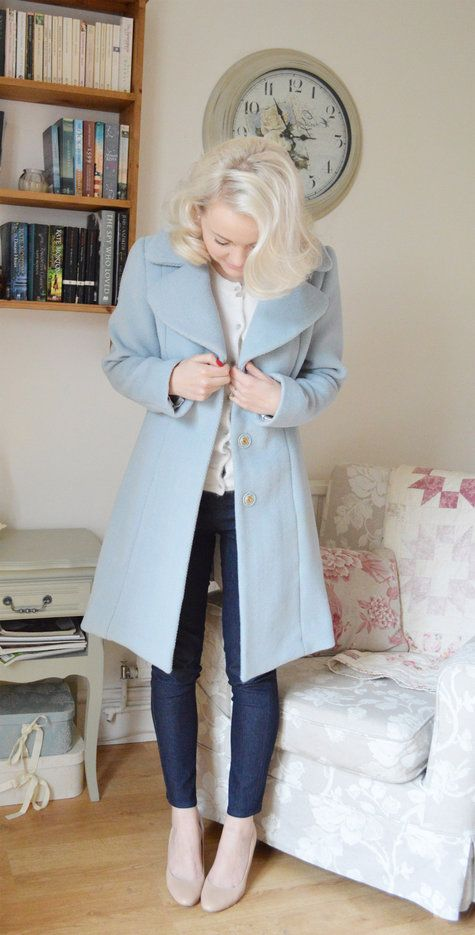 Winter Blues Coat Simplicity 2311 by thelittletailoress