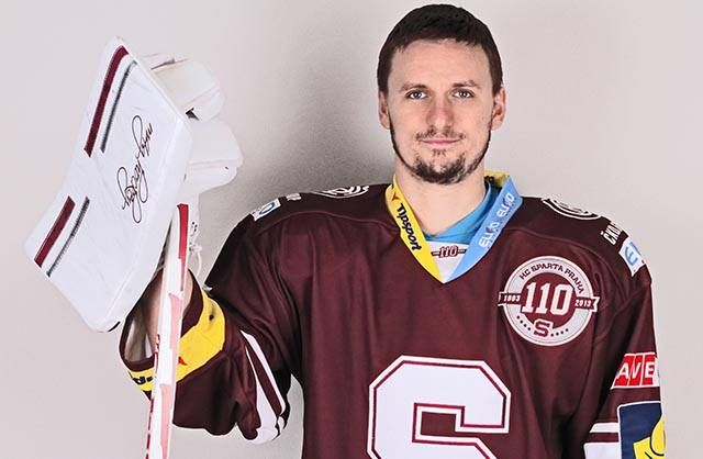 Tomas Popperle  Goalie 2015-2018 contract signed HC Sparta https://www.facebook.com/hcsparta/photos/a.126506763231.106144.58826048231/10153237059398232/?type=1