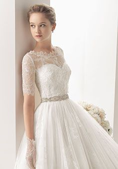 Sweetheart Empire Waist Elegant & Luxurious Wedding Dress picture 1