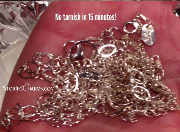 How to Clean Your Origami Owl Silver Plated Chains | Origami Owl at Storied Charms