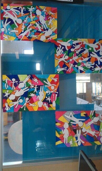 Tekenopdracht Keith Haring
