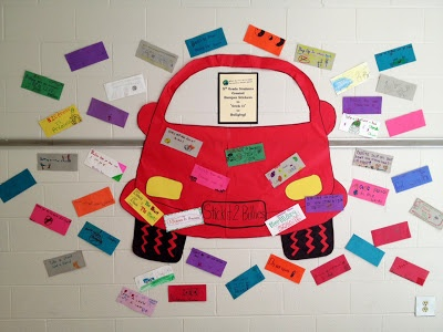 """made """"bumper stickers"""" with Anti-Bullying slogans. This counselor ..."""