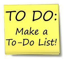 #ToDoList #Plannen #organiseren
