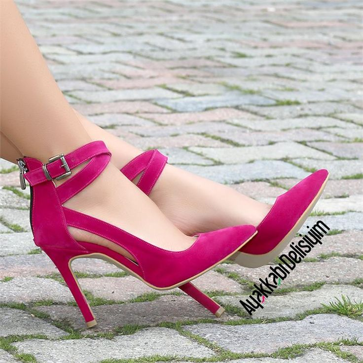 Fuschia Pink Shoes Wide Fit