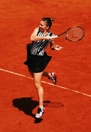 """""""I'm not thinking about finals. It's very far. I'm thinking just for the third round. I had two good matches here already. I'm looking forward to play the third one."""" - Simona Halep after defeating Zarina Diyas in the second round at the 2016 French Open"""