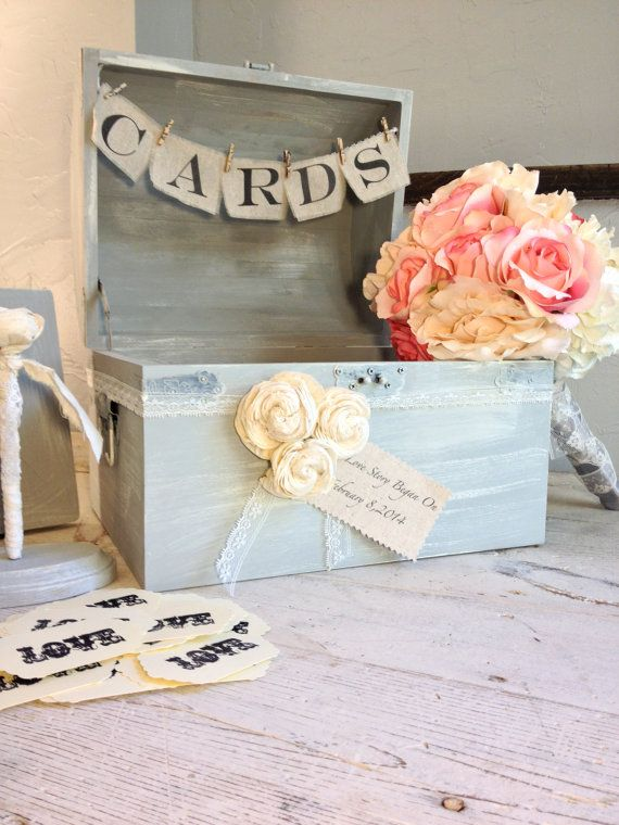 Wedding Shabby Chic Guest Book Alternative by by BurlapandLinenCo, $115.00