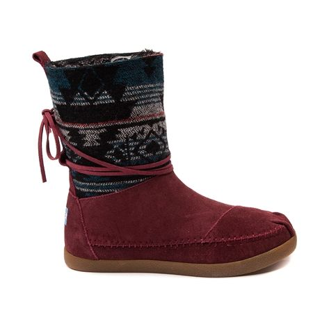 Well, hello there...TOMS Jacquard Nepal Boot. Love the color, stitching...tribal design...