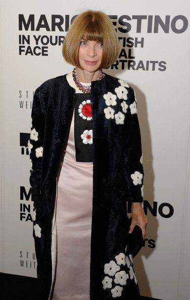 Anna Wintour Photos Photos - FOR USA SALES: Contact Randy Bauer (310) 910-1113 bauergriffinsales@gmail.com.FOR UK SALES: Contact Caroline 44 207 431 1598 MUST BYLINE: EROTEME.CO.UK.Anna Wintour, Editor-In-Chief of Vogue, attended the photo exhibit of photographer Mario Testino last night at the Museum of Fine Arts in Boston. - Anna Wintour Attends Mario Testino Photo Event In Boston