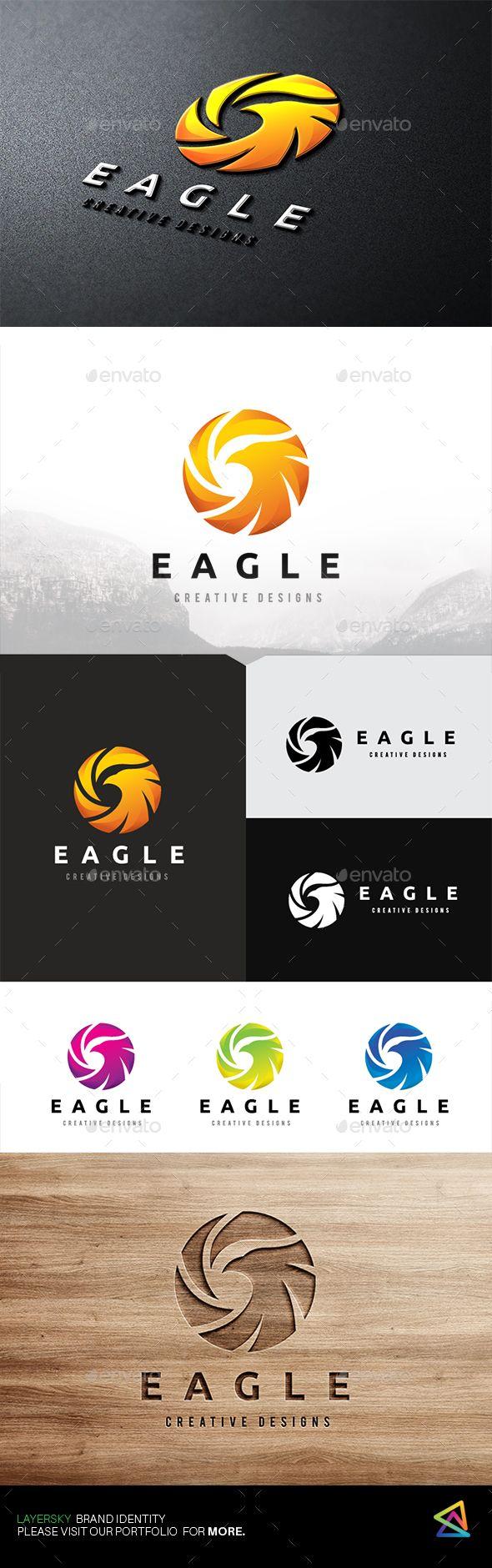 Eagle Logo — Vector EPS #motor show #red • Download ➝ https://graphicriver.net/item/eagle-logo/19487425?ref=pxcr