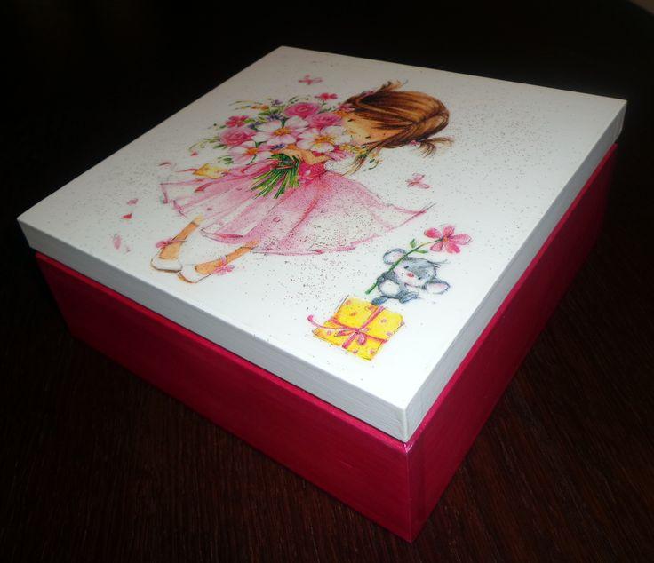 Amaranth casket Little Princess