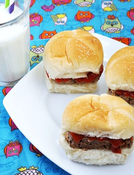Classic Bison Meatloaf Sliders #Recipe  #healthy #lunch #dinner #meatball #meatloaf #sandwich