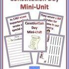 This product is designed to be used on Constitution Day. It includes a short book that explains the constitution in terms young children can unders...