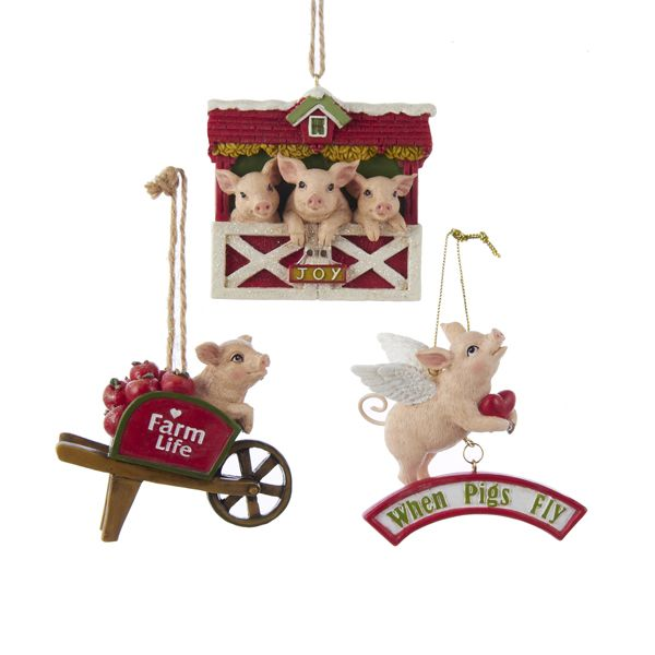 RESIN #FARM #PIGS ORNAMENTS #PIGORNAMENTS