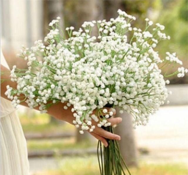 mooie kunstmatige nep zijde gipskruid gipskruid bruiloft decoratie bloemen plant huis 1 stuks