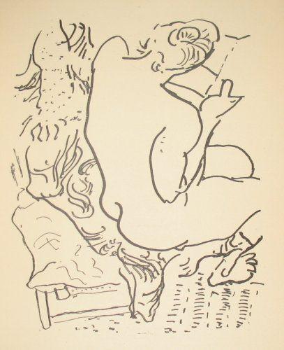 MATISSE, Henri; REVERDY, Pierre. Les Jockeys Camoufles. Trois Poemes par Monsieur Pierre Reverdy. Agrementes de cinq dessins inedits de Henri Matisse. Paris: La Belle Edition, (1918).