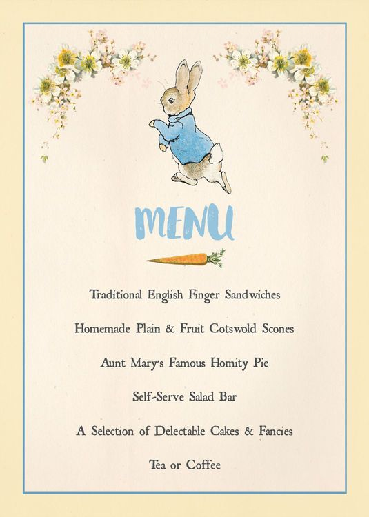 Best 25 Beatrix potter birthday party ideas – Beatrix Potter Birthday Invitations