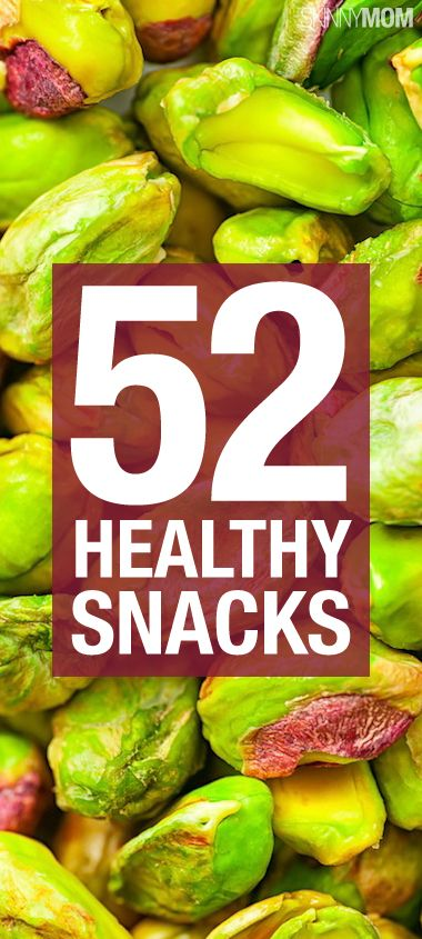 These 52 snacks are great for a flat tummy.