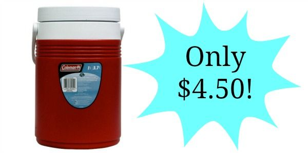 Coleman 1-Gallon Jug Only $4.50!