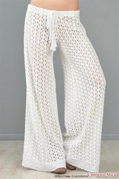 Пошить летние белые брюки