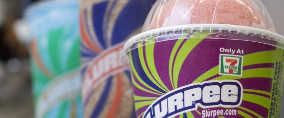 FREE Slurpees today - Because, you know, it's 7/11.