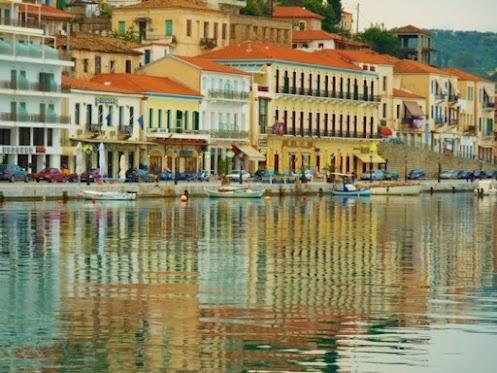 Gytheio, Lakonia, Greece. It looks exactly like this