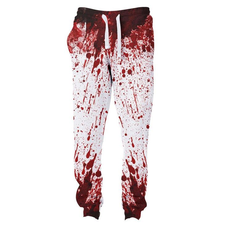 Blood Splatter Joggers
