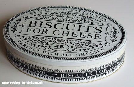 【空き缶】 チーズ 缶 (白黒)-M&S/マークス&スペンサー - イギリスの紅茶、ハーブ・フルーツティーと英国雑貨のお店 - Something British