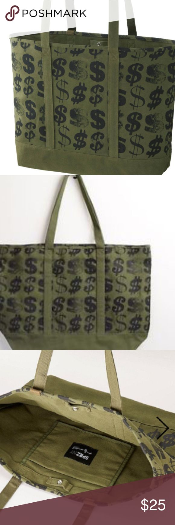 ANDY WARHOL TOTE BAG BRAND NEW ANDY WARHOL TOTE LARGE CANVAS TOTE NEW WITH TAGS Uniqlo Bags Totes