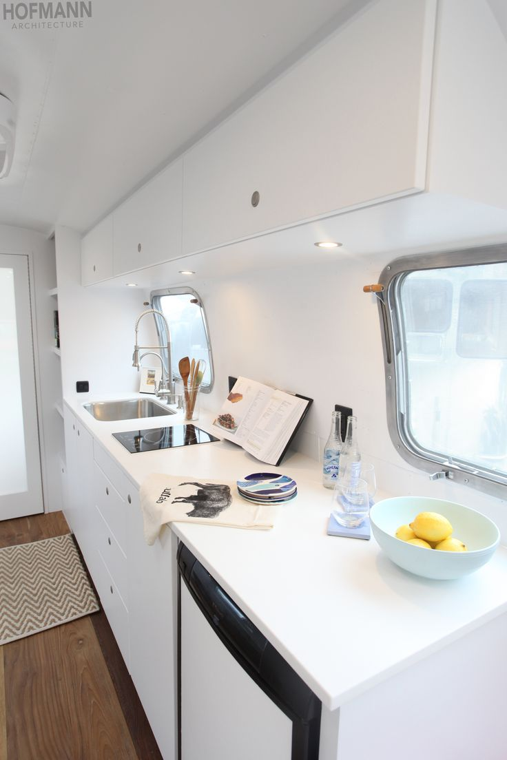 Sophia is simply a classic Hofmann Architecture designed airstream.
