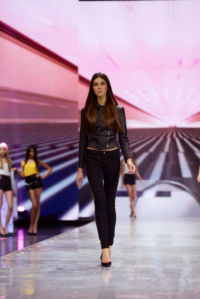 Elite Model Look 2012 winner Marilhea Peillard rehearsing for the World Final in Shanghai. More: http://ofwitandwill.com/elite-model-look/videos/exclusive-interview-with-elite-model-look-winner/