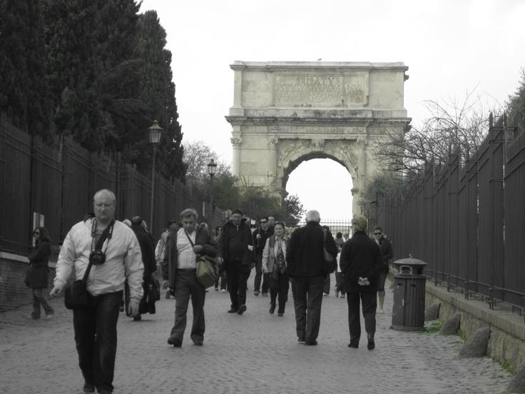 Still in Rome