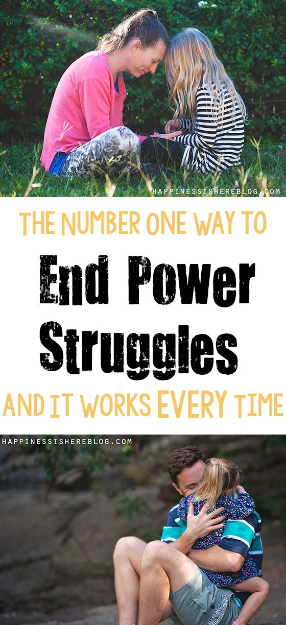 The Number One Way to End Power Struggles - and It Works EVERY Time