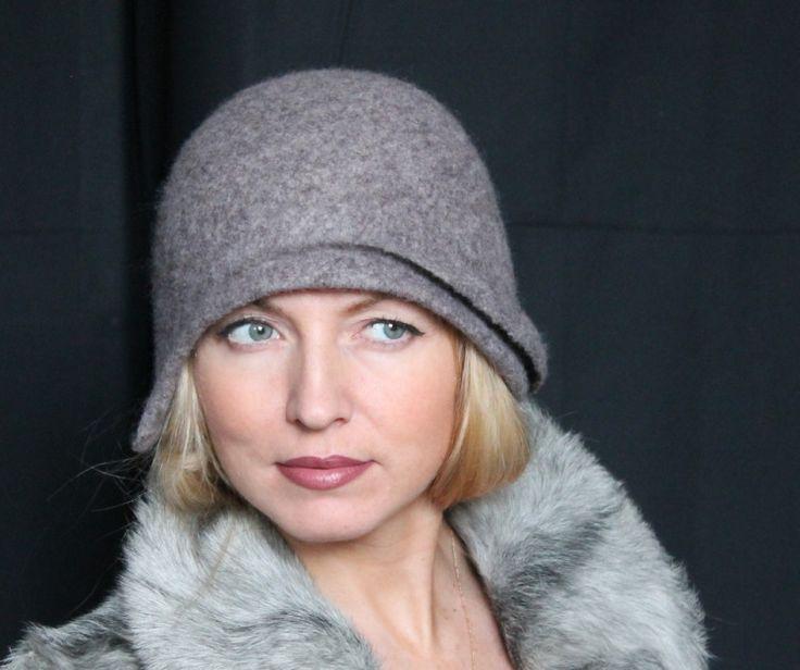 """Gallery.ru / Клош """"Глоток тишины"""" - Шляпки. Hats. - irina-spasskaya"""