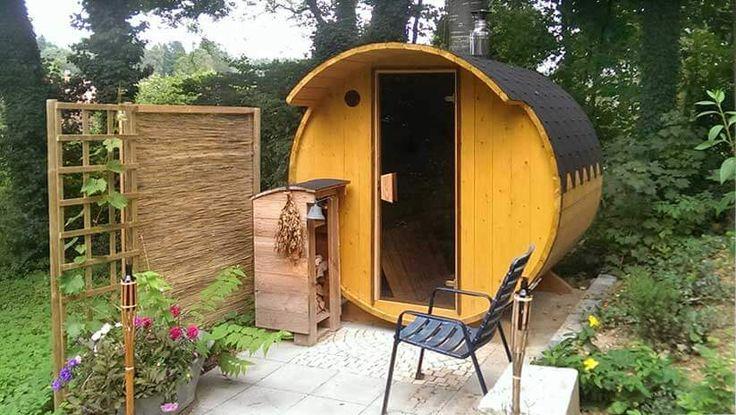 die besten 25 saunafass ideen auf pinterest fasssauna sauna und gartensauna. Black Bedroom Furniture Sets. Home Design Ideas