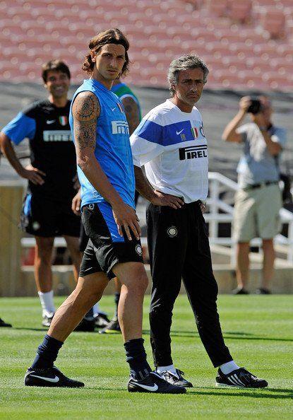 Ibra e Mourinho, Inter