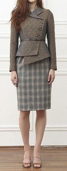 Schumann Komplette Classic Suit-dress - Brown