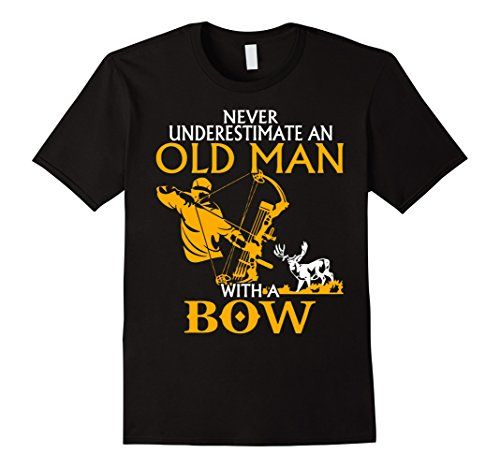 Old Man with a Bow T-Shirt
