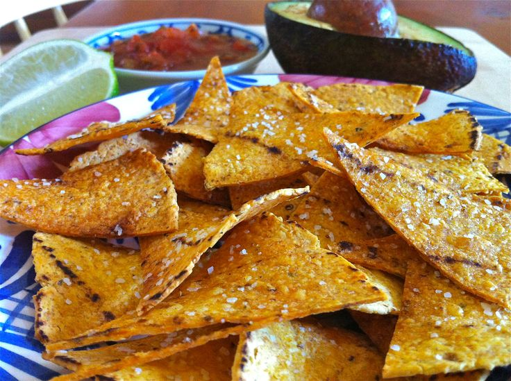 Salted Lime Baked Corn Tortillas Chips — The Fountain Avenue Kitchen