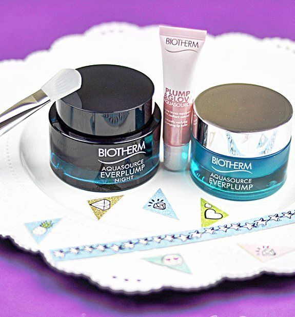 I haven't tried any @biotherm products before and I'm currently kicking myself for having waited so long! The aquasource everplump night & day duo is amazing!  The aquasource plump & glow lip balm is pretty good too! Read my review by clicking the link in my bio
