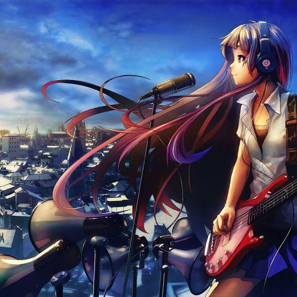 Anime Girl Singing Guitar 4k 3840x2160 40 Wallpaper For