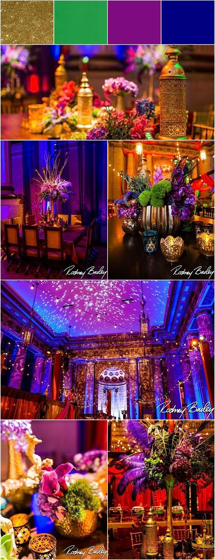ballroom wedding idea; photo: Rodney Bailey Photography
