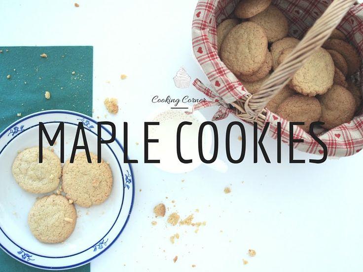 Maple Cookies - leckere Ahornsirupkekse, die an Kanada erinnern #rezept