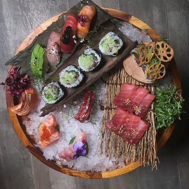 Makis Nigiri y Sashimi #gastronomia #food #sushi