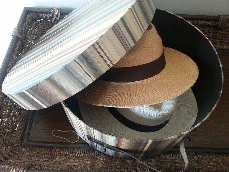Caixa p/ chapéu.